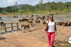 Miss. Olga Alawa in Sri Lanka